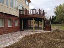 dressing up support posts professional deck builder finishes