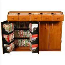 Entertainment Storage Cabinets Venture Horizon Cd Dvd Media Storage Cabinet With Drawers