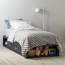 Kids Beds With Storage Boys Topside Storage Kids Bed Navy The Land Of Nod