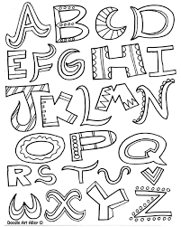 alphabet coloring pages adults kids abc coloring pages