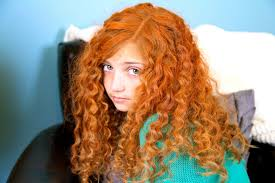 red hair color orange red temporary spray hair