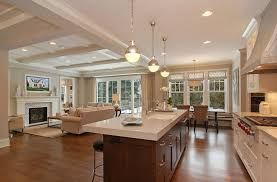 open concept kitchen ideas magnificent open concept kitchen decor with dining room
