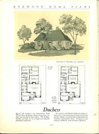 Architects Home Plans Redwood Home Plans By California Architects Tudor Storybook