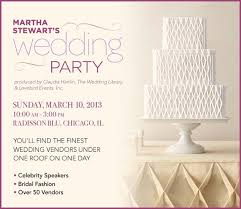 wedding party invitations calling all chicago brides martha stewart s wedding party ps