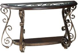 powell scroll console table scroll console table croll leg tard in izing powell 2 door and