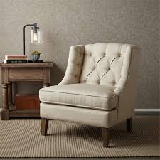 Tufted Accent Chair Sawyer Button Tufted Accent Chair See Below