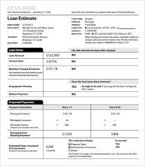 Estimate Template Excel 10 Sle Estimate Templates Free Word Excel Pdf Documents