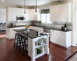 Kitchen Cabinets Lighting Collection In Modern Kitchen With White Cabinets And Kitchen White