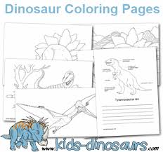 free dinosaur coloring pages kids