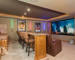 Home Theater Decor Pictures Basement Home Theater Design Ashburn Transitional Basement Theatre
