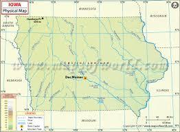 map of iowa map of iowa