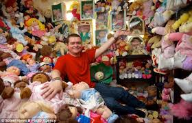 Seeking Kyle Doll Cabbage Patch Fan 41 Shows His Array Of 600 Dolls