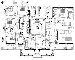 farmhouse floor plans plans totally squares garages bays bathroom farmhouse floor house