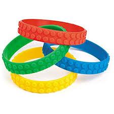 party favor bracelets color brick building block party favor bracelets 12
