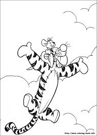 winnie pooh coloring pages print kids 69071