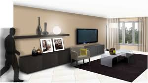 deco interieur chambre deco salon peinture galerie avec salon peinture taupe sur idee deco