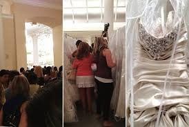 wedding dress sle sales the 2012 kleinfeld bridal sle sale aka that we said yes