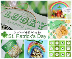 st patrick u0027s day card and gift ideas celebrating holidays