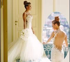 tight wedding dresses fishtail tight mermaid backless wedding dress wedding bridal trend
