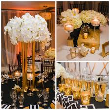 black and white wedding decorations black white and gold wedding themes wedding party decoration