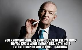 You Know Nothing Meme - you know nothing jon snow