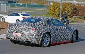 lexus lc spied spy shots lexus lf lc production prototype spotted page 4