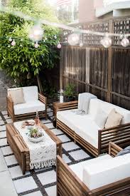 Best Place For Patio Furniture - a modern tropical california outdoor living room home outside