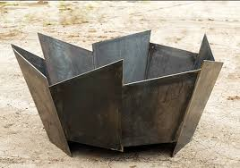 Firepits Co Uk Crackle Pit Crackle Pit In 5mm Steel This Striking