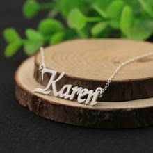 personalized sted necklace popular custom silver necklace buy cheap custom silver necklace