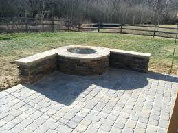 round patio stone patio ideas cheap fire pit patio ideas stone patio fire pit