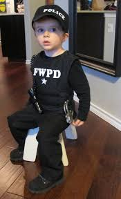 Boys Police Officer Halloween Costume Happy Halloween Operation