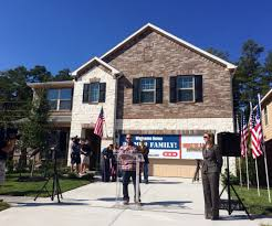 pulte group injured veteran given keys to new mortgage free