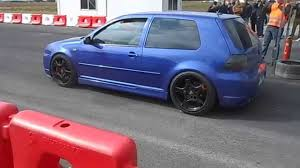 fast volkswagen cars vw golf 4 v6 turbo 480 hp flames and fast acceleration youtube