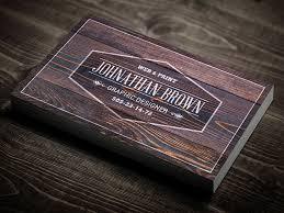 Wood Texture Business Card Wooden Business Card Best Psd Freebies