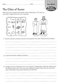 ancient civilizations worksheets 6th grade google search