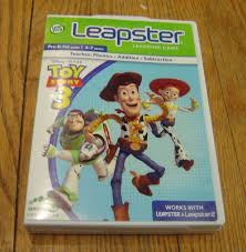 leap frog leapster toy story 3 game case manual enkore kids