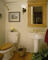 Bathroom With Beadboard Walls by Beadboard Walls Bathroom Rustic With Bathroom Lighting Wood Towel