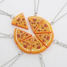 s day pendants s day necklace pizza slice pendants friendship best