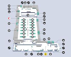 layout denah cafe terminal maps dubai airports review 2013 dubai airports review 2013
