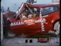 si e auto crash test honda civic model crash test trap