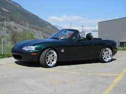 emerald mica 1990 mazda mx 5 gtr edition 200pcs in switzerland