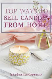 direct sales companies home decor top opportunities to sell candles from home