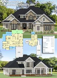 plan 46320la attractive traditional house plan craftsman house