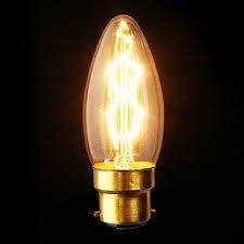 b22 110v 220v 40w candle vintage edison filament incandescent bulb