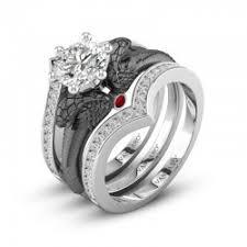 black wedding ring set vancaro black ring black engagement ring black wedding ring