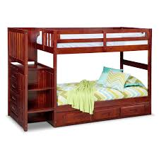 bunk beds twin over twin bunk bed with trundle and stairs free