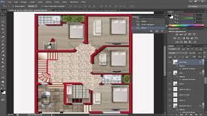 how to render a floor plan in adobe photoshop cs6 rendering a