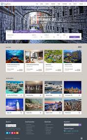 tongtiew travel agency html5 responsive template on behance