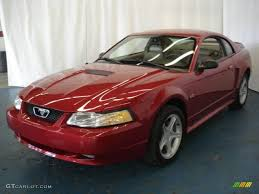 2000 Ford Gt 2000 Laser Red Metallic Ford Mustang Gt Coupe 8121023 Gtcarlot