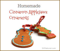 ornaments a cinnamon applesauce ornaments recipe